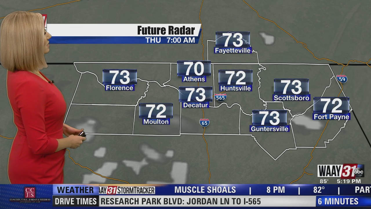 Image for Kate's Wednesday Evening Forecast