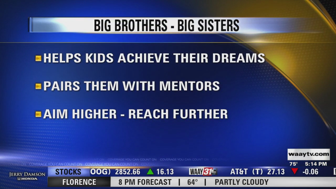Image for Connecting North Alabama: Big Brothers Big Sisters
