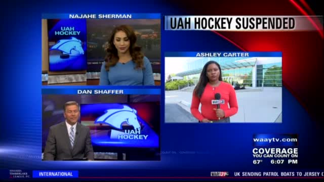 Image for University of Alabama in Huntsville discontinues hockey program