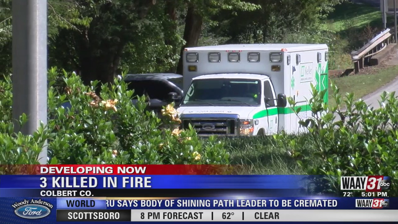 Image for 3 Killed In Fire