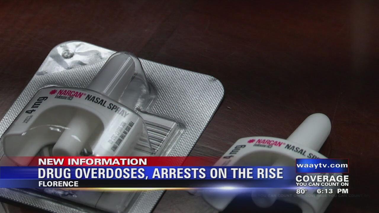 Image for Drug Overdoses, Arrests On The Rise