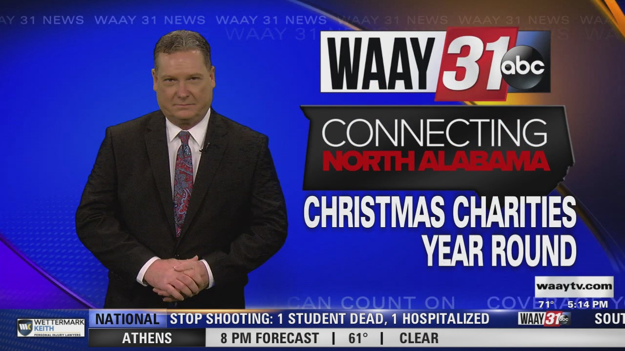 Image for Connecting North Alabama: Christmas Charities Year Around