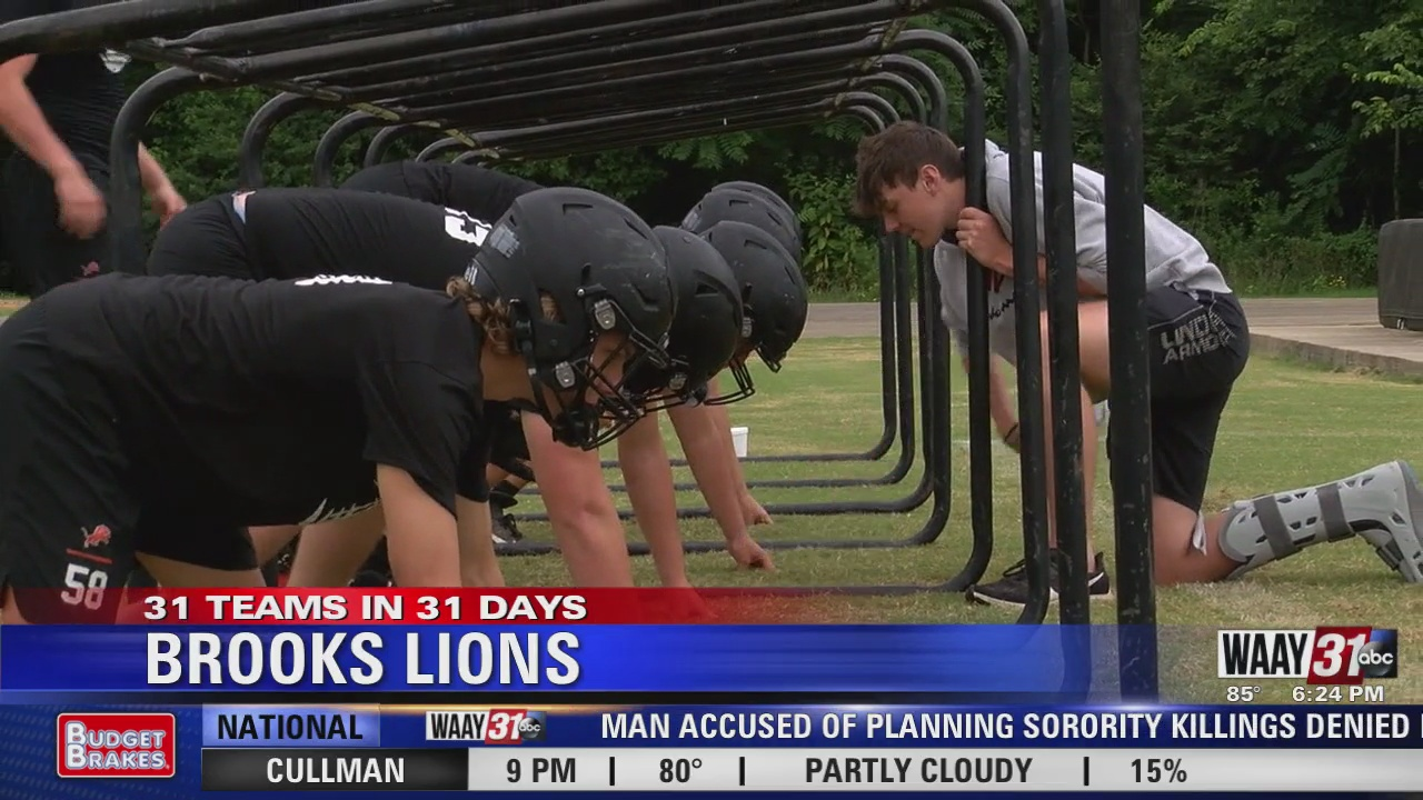 Image for WAAY's 31 Teams in 31 Days: Brooks Lions