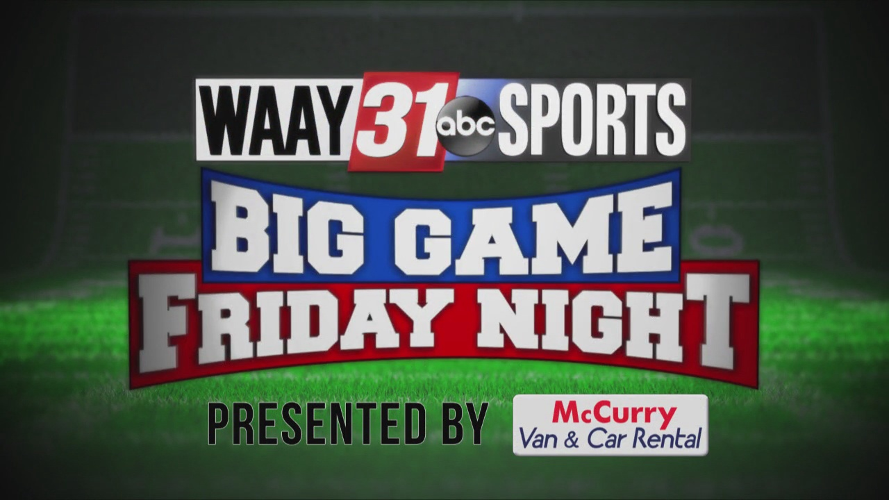 Image for WAAY 31 Big Game Friday Night: Oct. 22