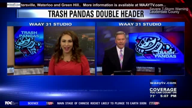Image for Rocket City Trash Pandas look for first win