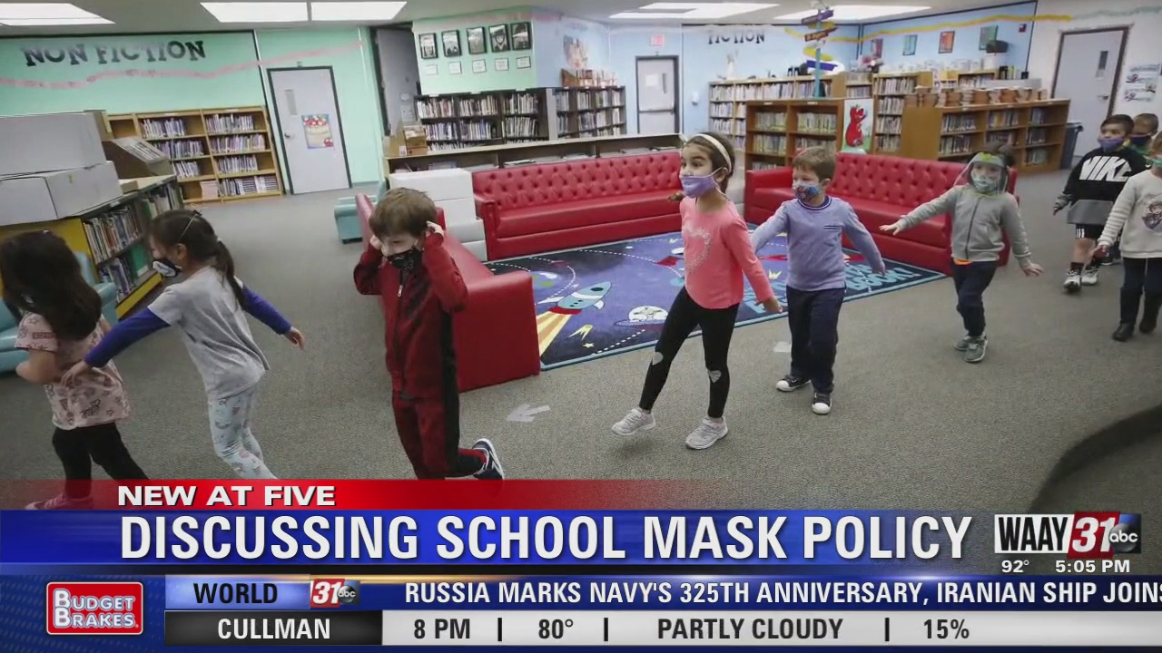 Image for Discussing School Masking Policy