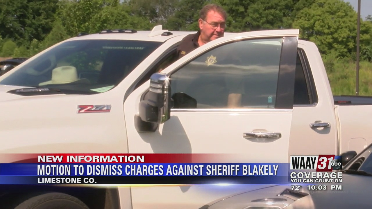 Image for Motion Filed to Dismiss Charges Against Sheriff Blakely