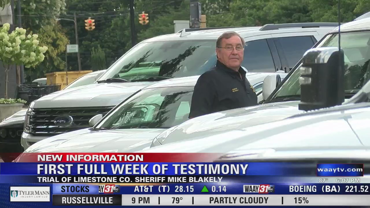 Image for First Full Week of Testimony Wraps Up in Blakely Trial