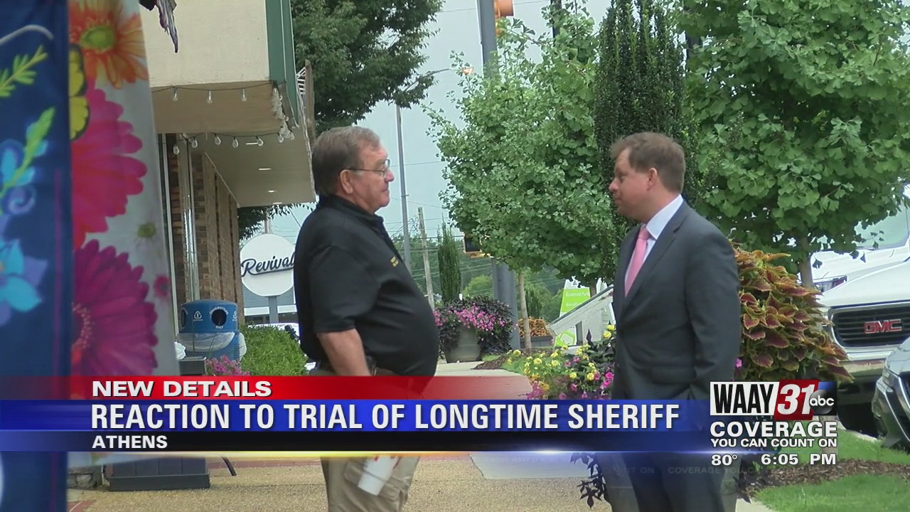 Image for Reaction To Trial Of Longtime Sheriff