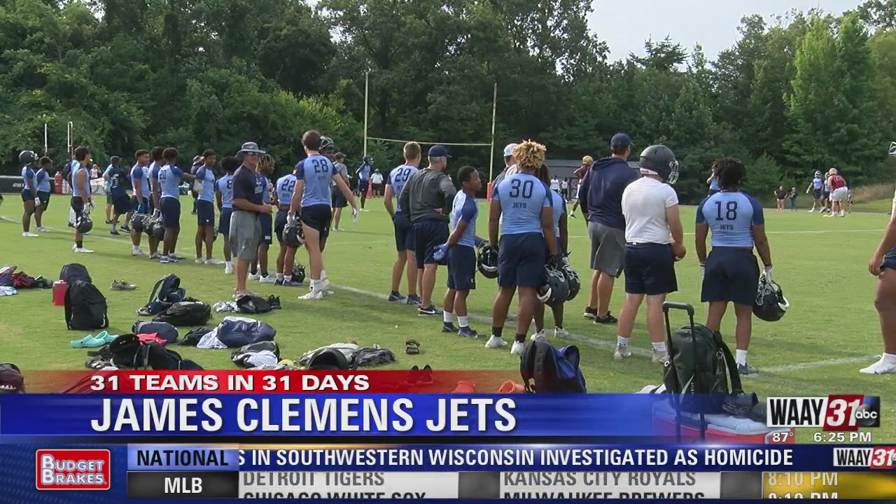 Image for WAAY's 31 Teams in 31 Days high school football spotlight: James Clemens Jets