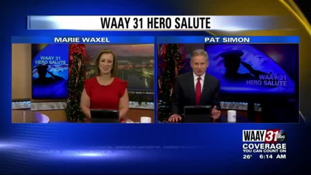 Image for WAAY 31 Hero Salute: Talmadge Drake