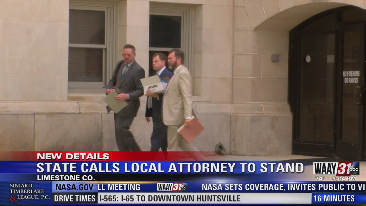 Image for State Calls Local Attorney To Stand