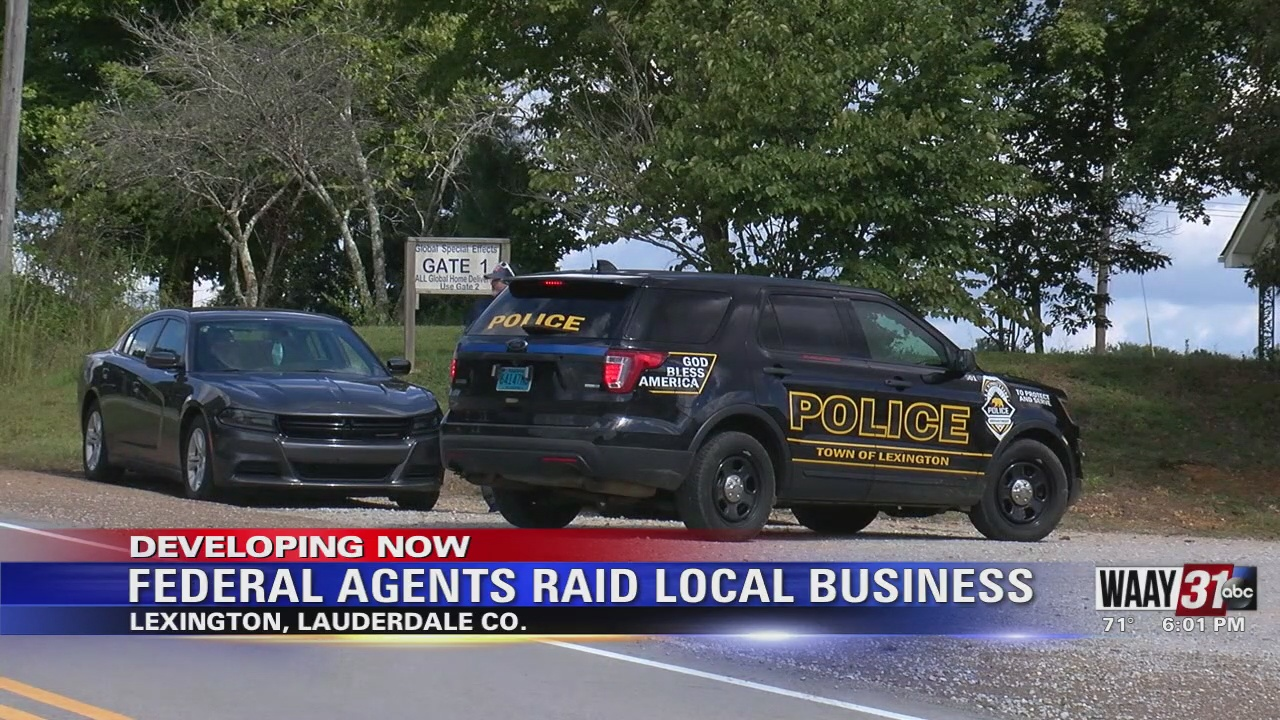 Image for Federal Agents Raid Local Business