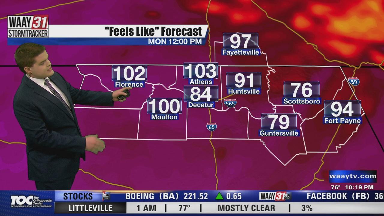 Image for Carson's Sunday Night Forecast 7/25