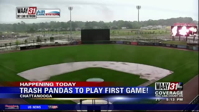 Image for Fans excited for Rocket City Trash Pandas' season opener