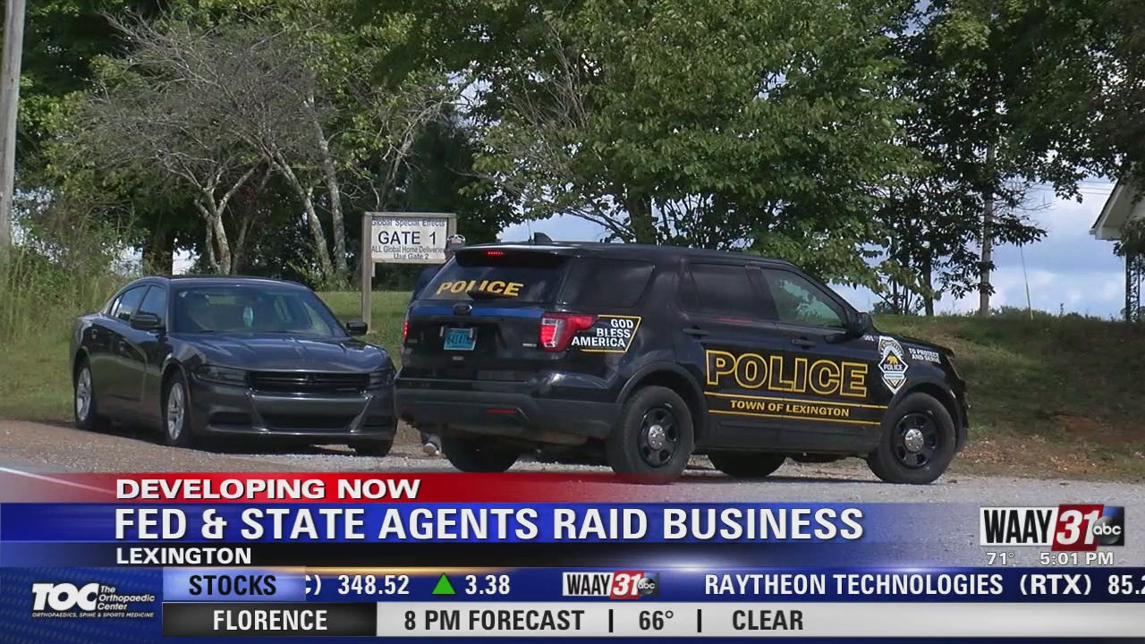 Image for Federal and State Agents Raid Business