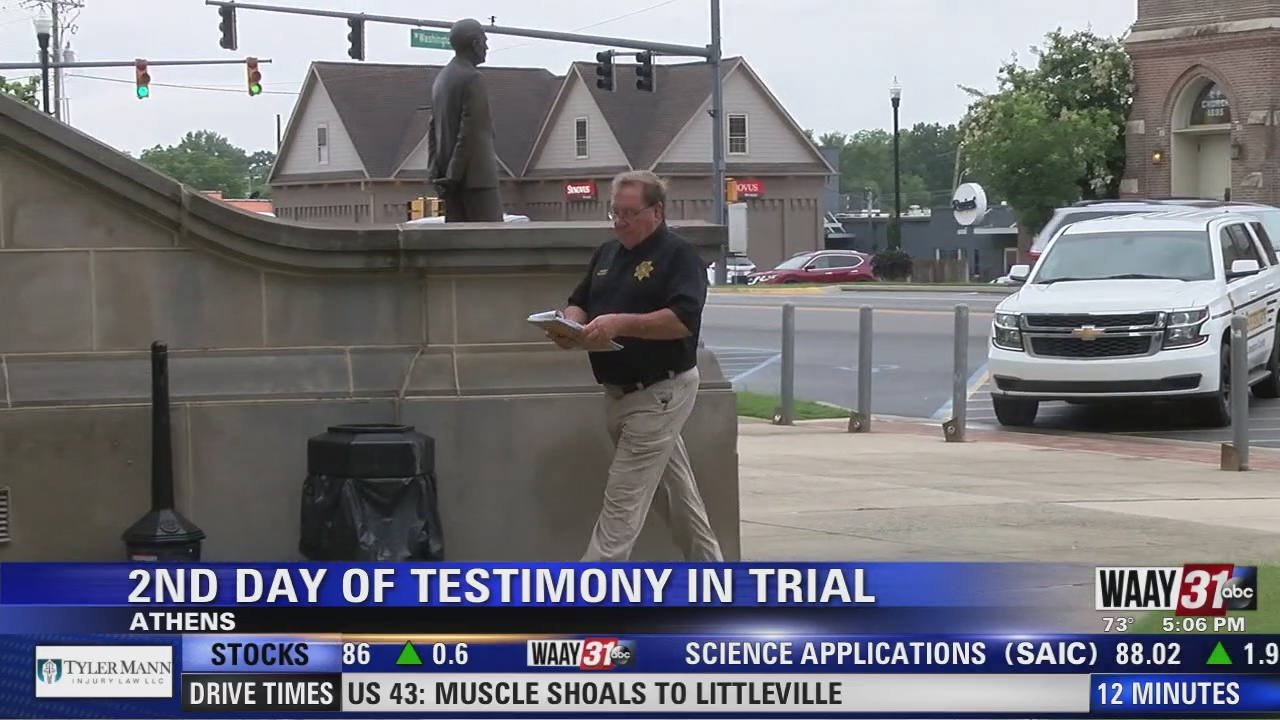Image for 2nd Day of Testimony in Trial