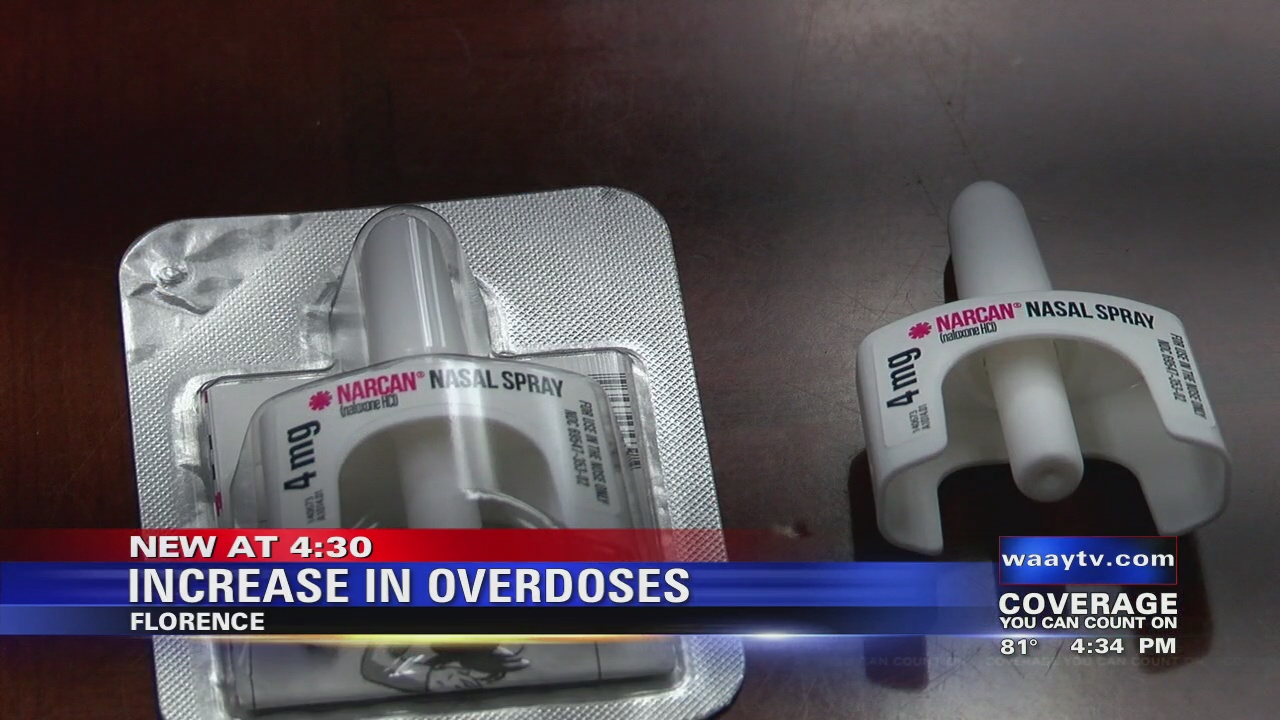 Image for Florence Police Department seeing an increase in overdoses