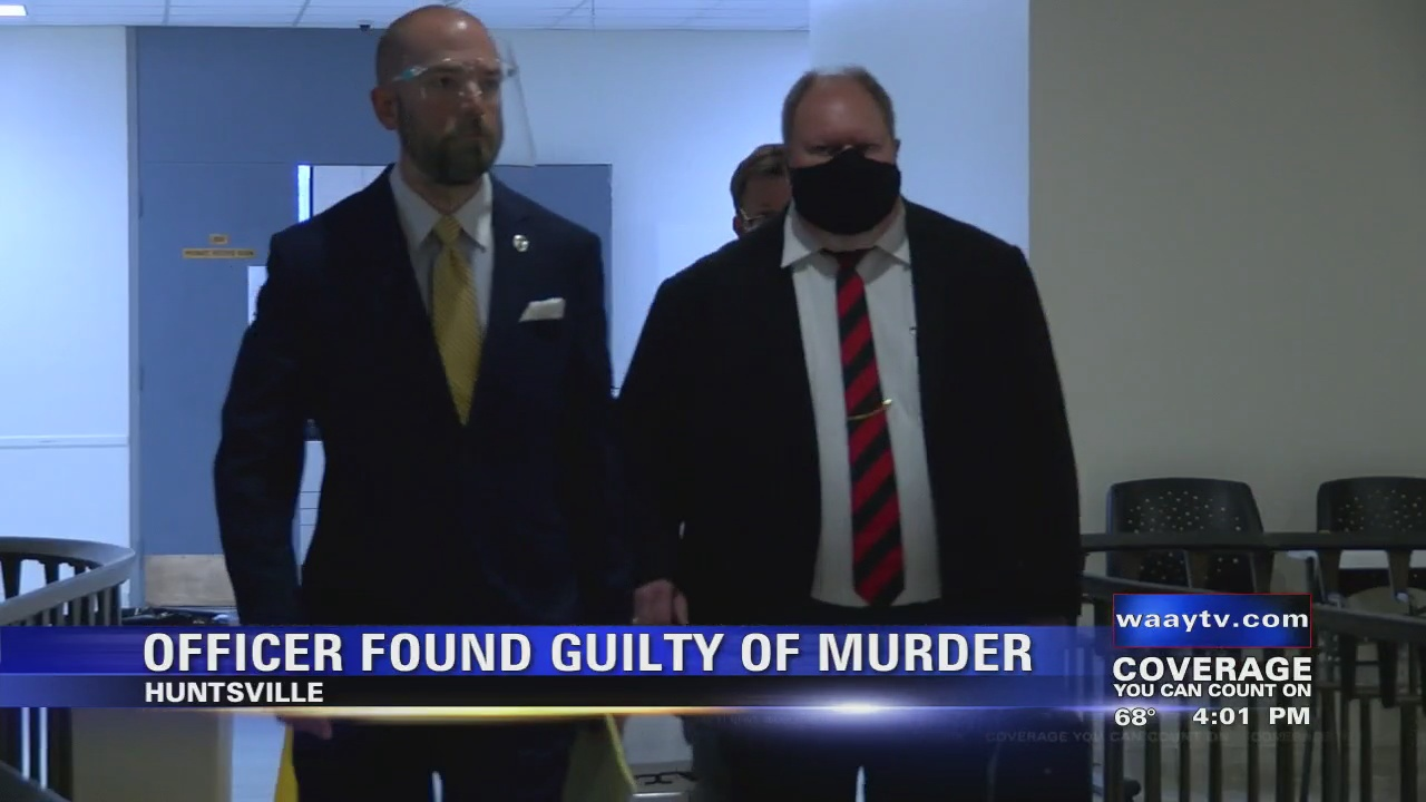 Image for Huntsville police officer found guilty of murder