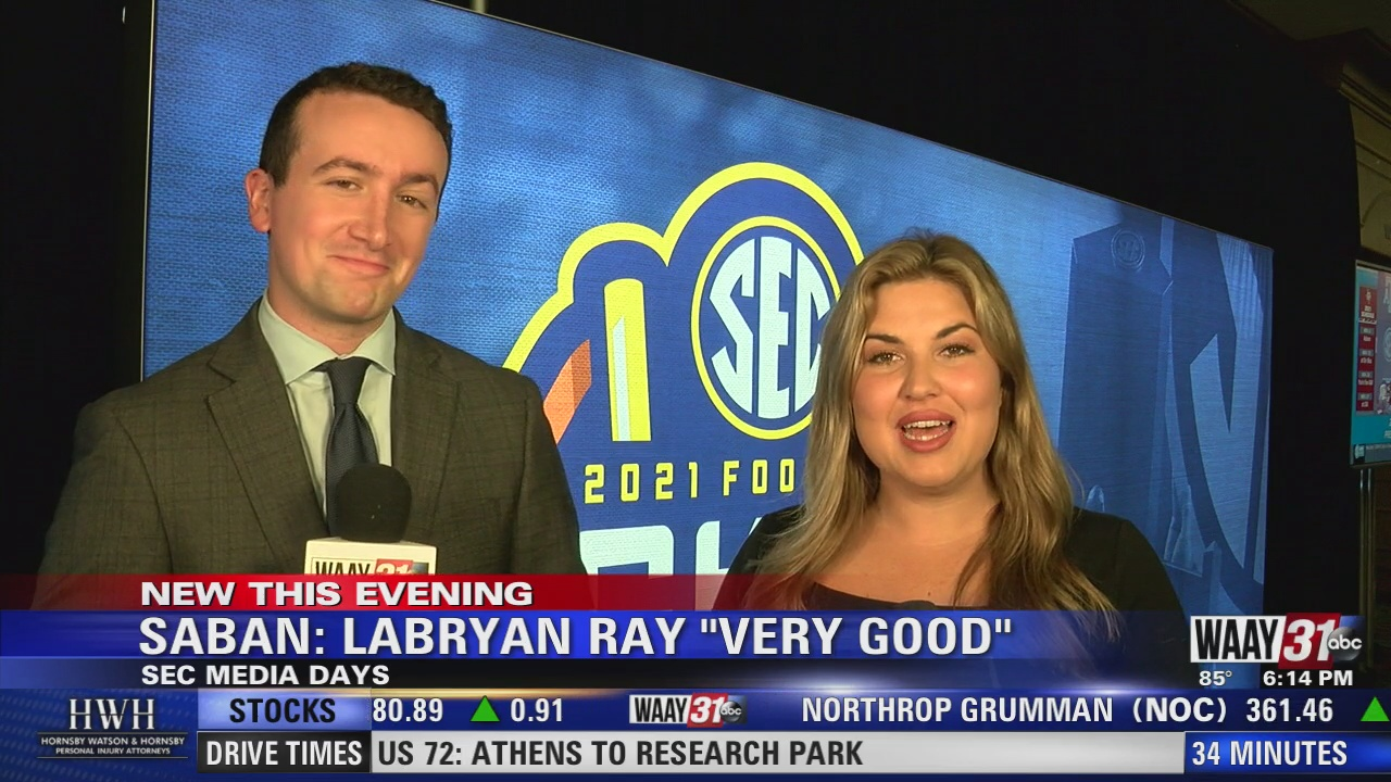 """Image for Saban: Labryan Ray """"Very Good"""""""