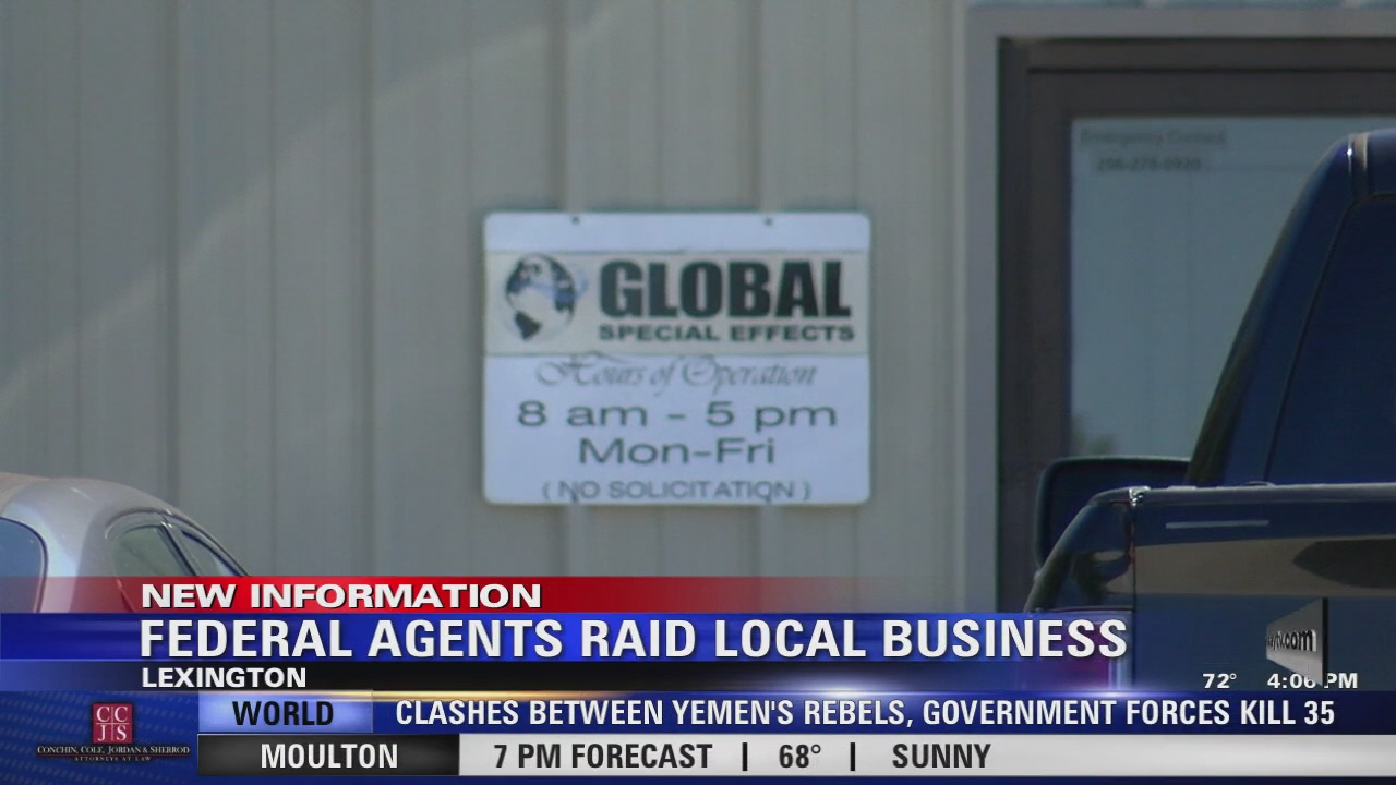 Image for Investigation continues at Lexington business raided by feds