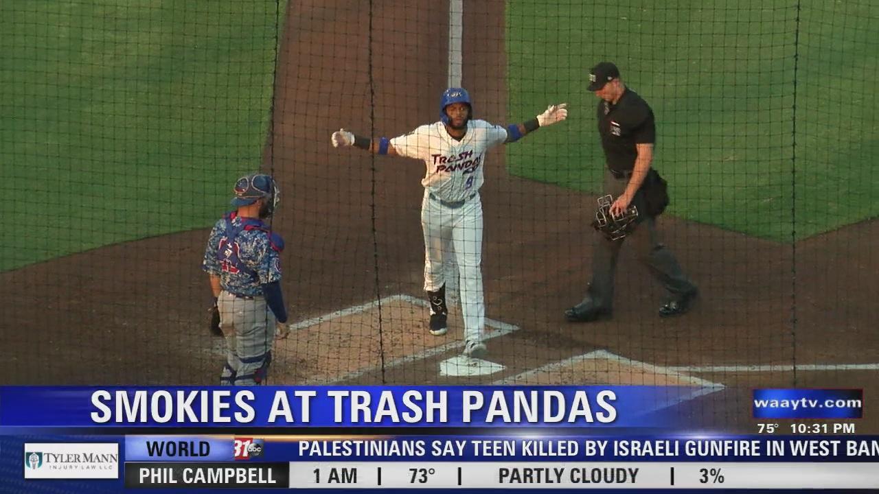 Image for Trash Pandas overpower Smokies