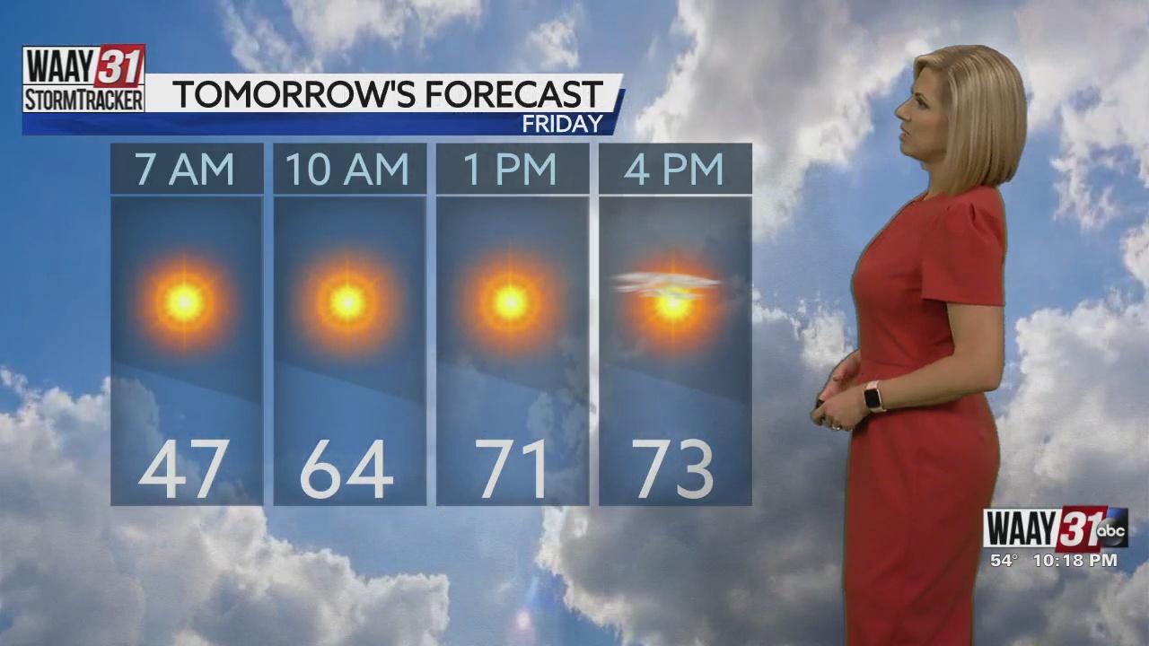 Image for Kate's Thursday Night Forecast