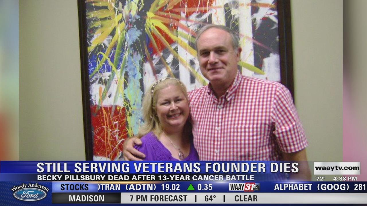 Image for Still Serving Veterans founder Becky Pillsbury dies