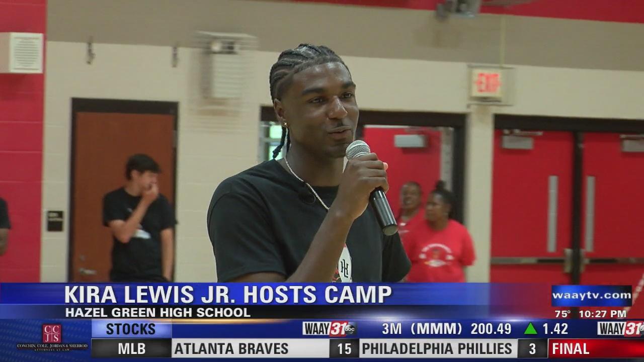 Image for Kira Lewis Jr host camp