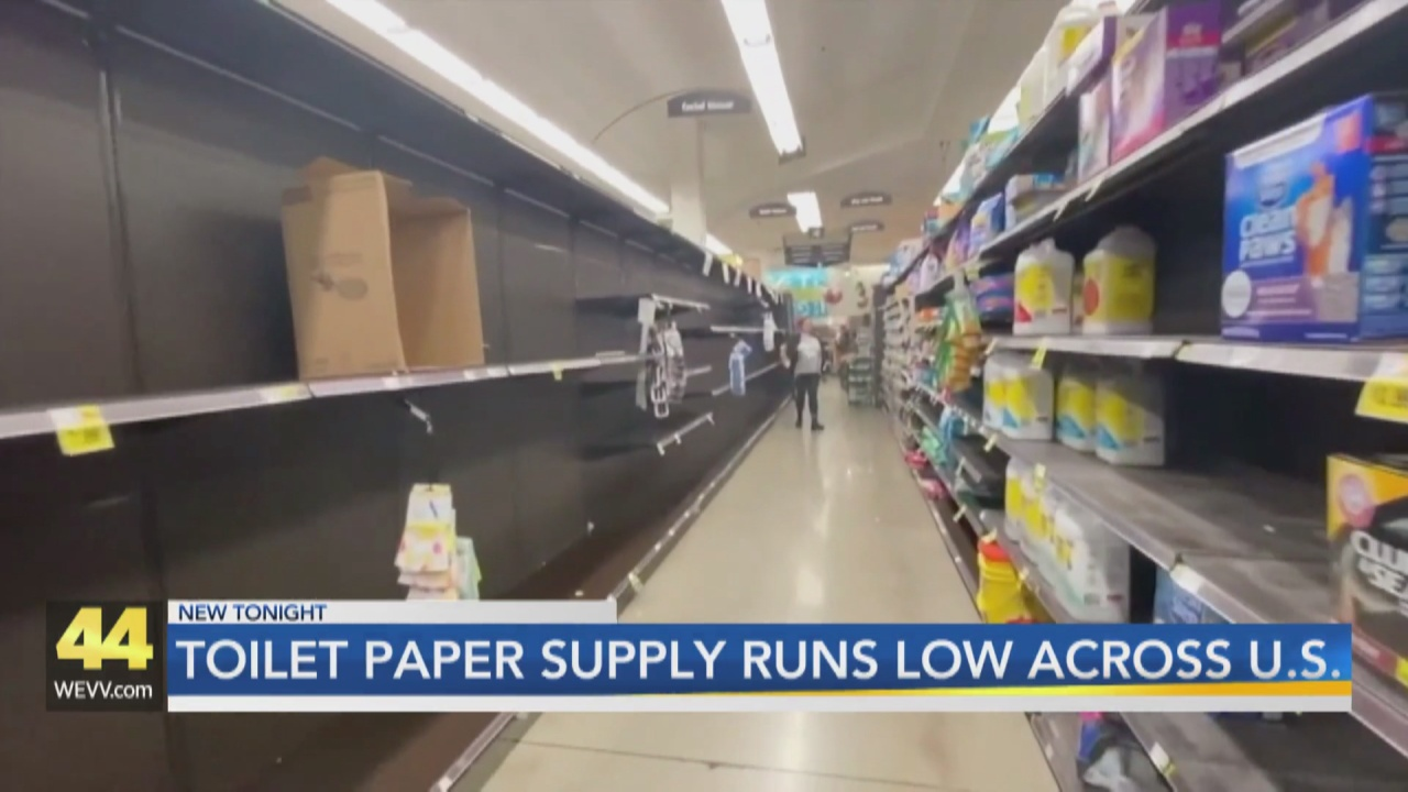 Image for As the U.S Faces More Product Shortages, Toilet Paper Supply Once Again on the Decline
