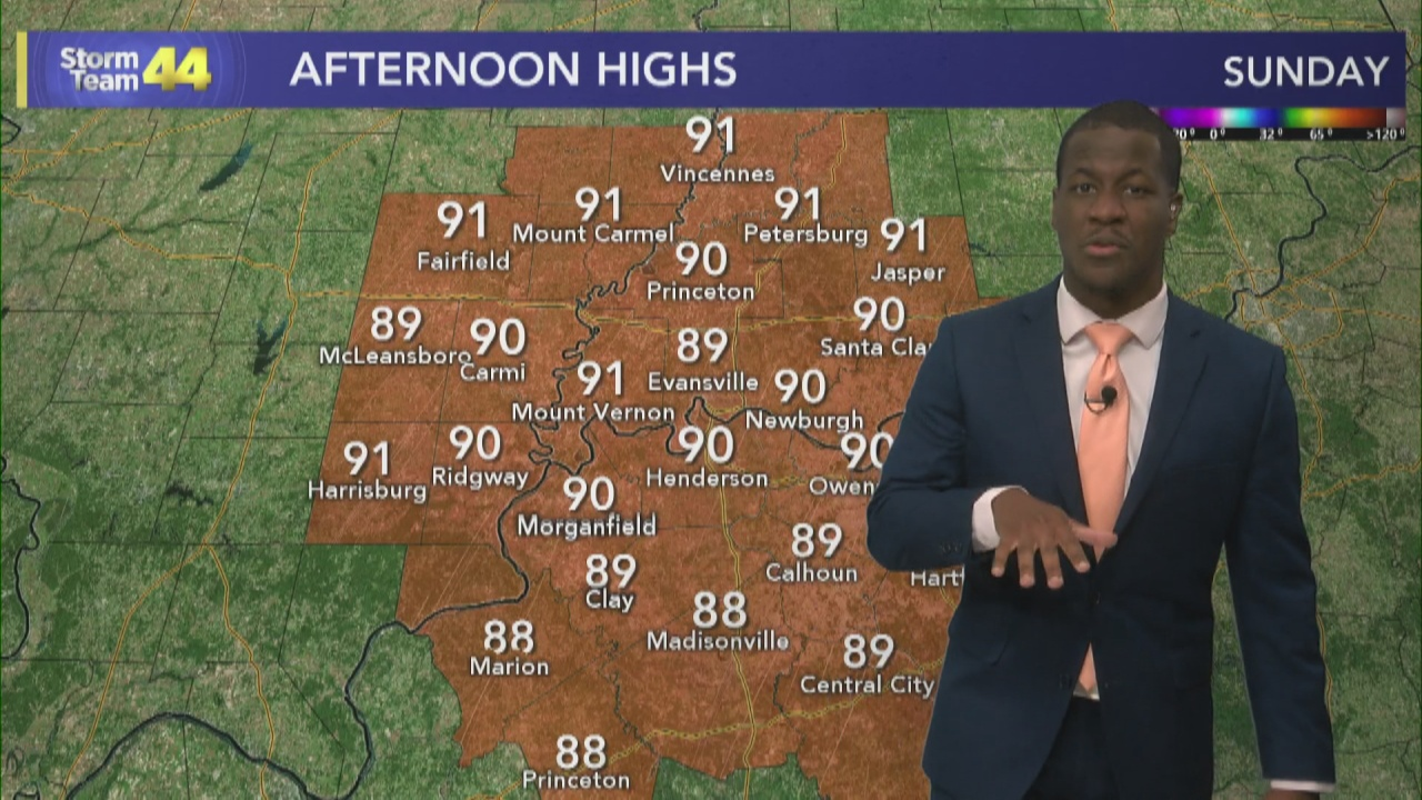 Image for The Summer Heat Continues to Wrap up the Weekend