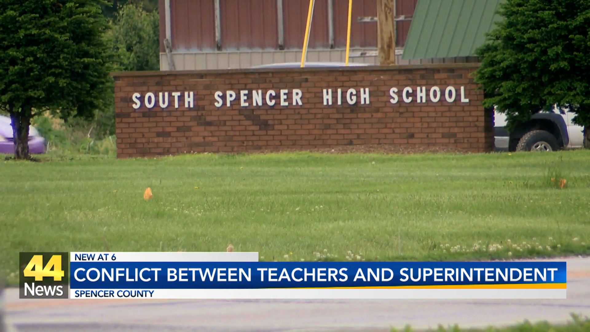 Image for Conflict Between Teachers and Superintendent at South Spencer HS