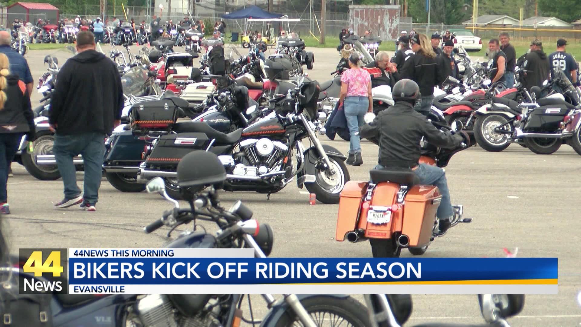 Image for Bikers Kick Off Riding Season