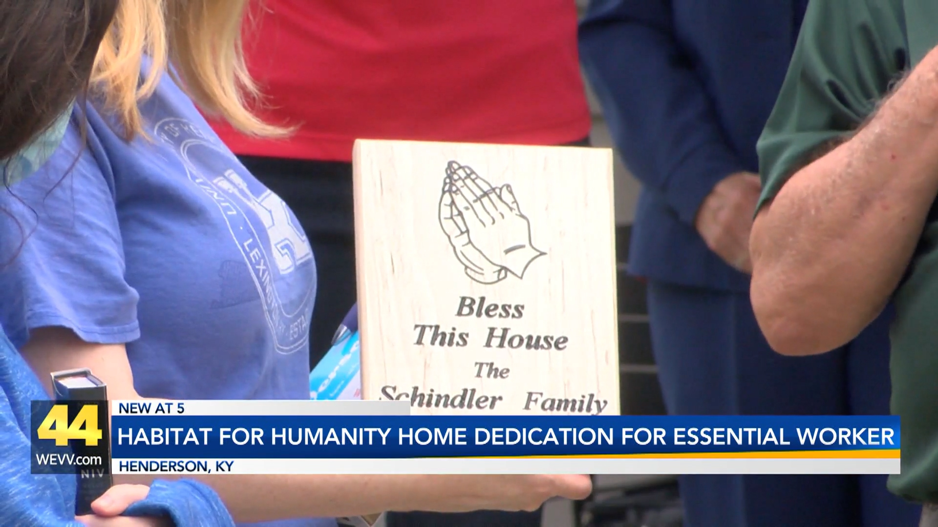 Image for Habitat For Humanity Home Dedication