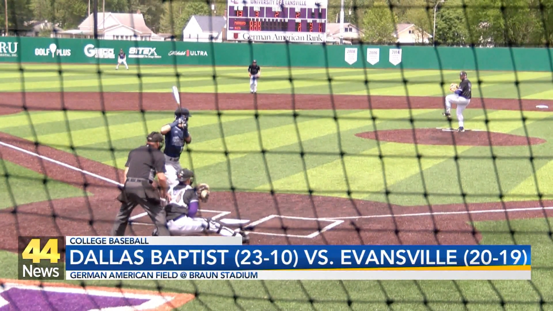 Image for Aces Baseball Earns Thrilling Split with Dallas Baptist