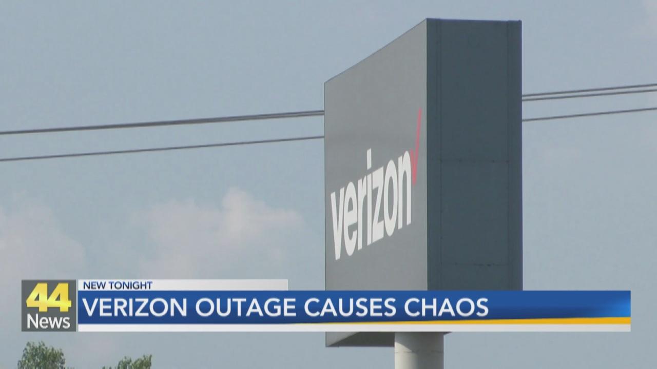 Image for Verizon Outage Causes Chaos