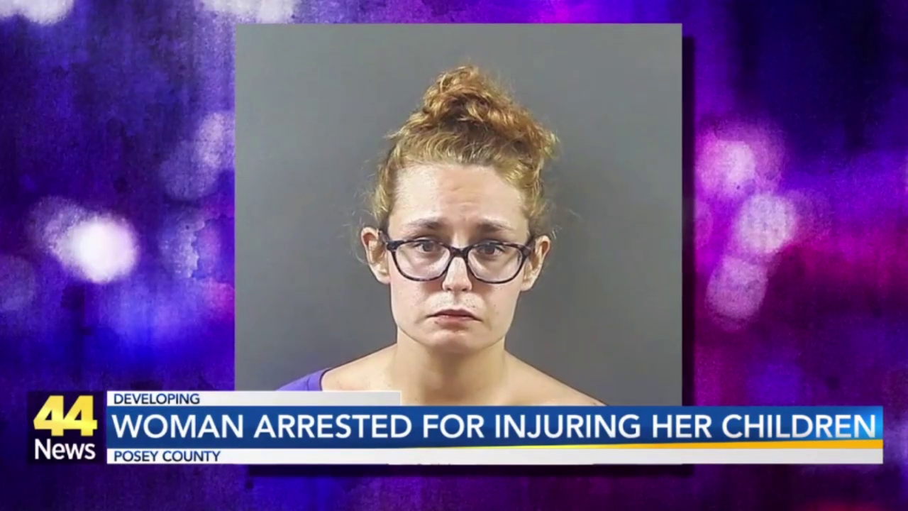 Image for Posey County Mom Arrested After Kids Found With 'Significant Bruising' on Faces