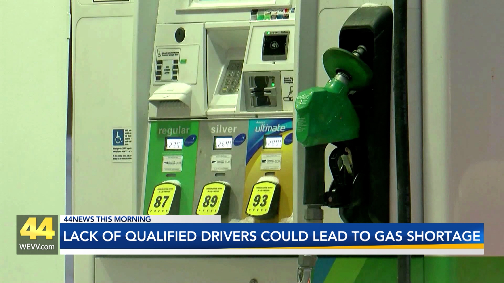 Image for Lack of Qualified Truck Drivers Could Leat to Gas Shortages