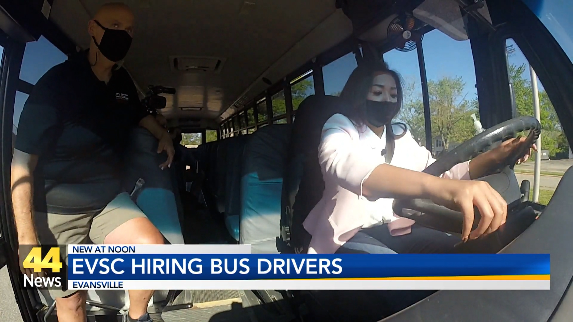 Image for EVSC Hiring Bus Drivers