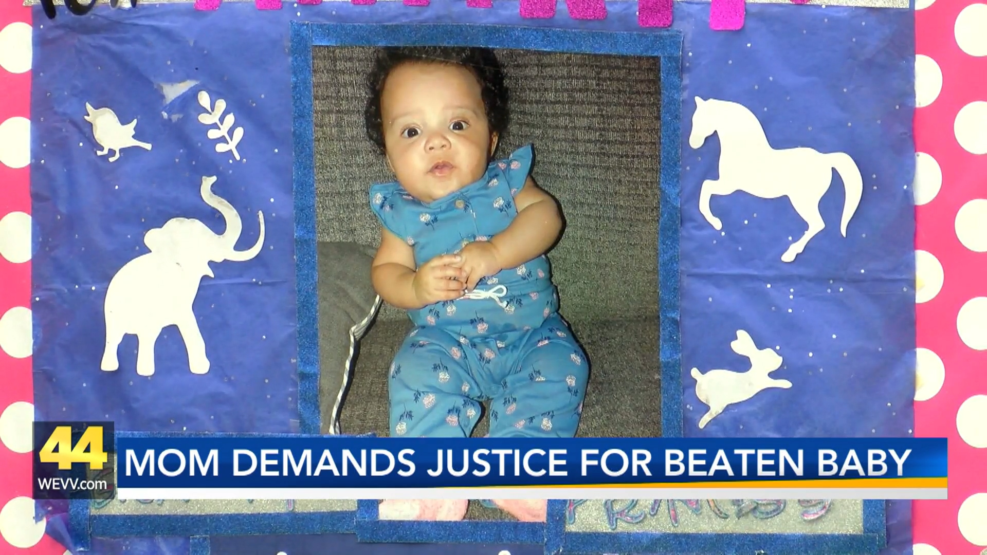 Image for Mom, Community Members Protest for Justice After Baby is Beaten