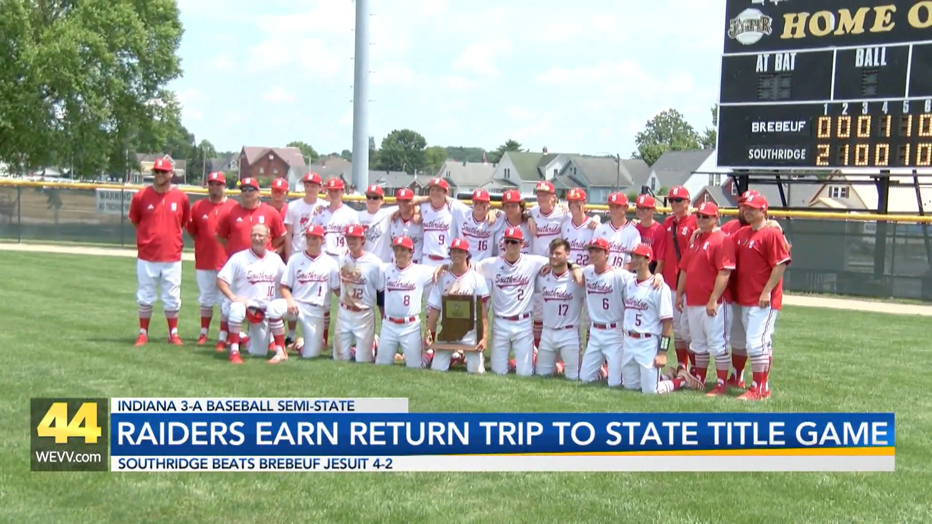 Image for Raiders Earn Return Trip to State Title Game
