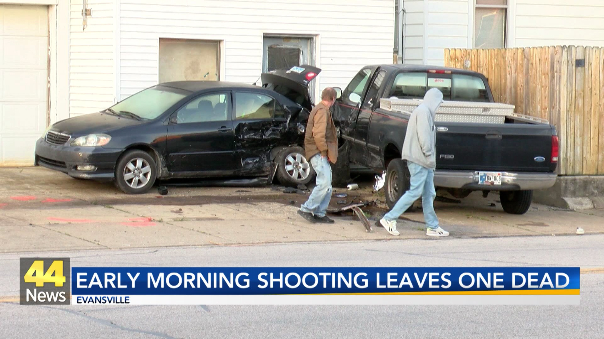 Image for Early Morning Shooting Leaves One Dead