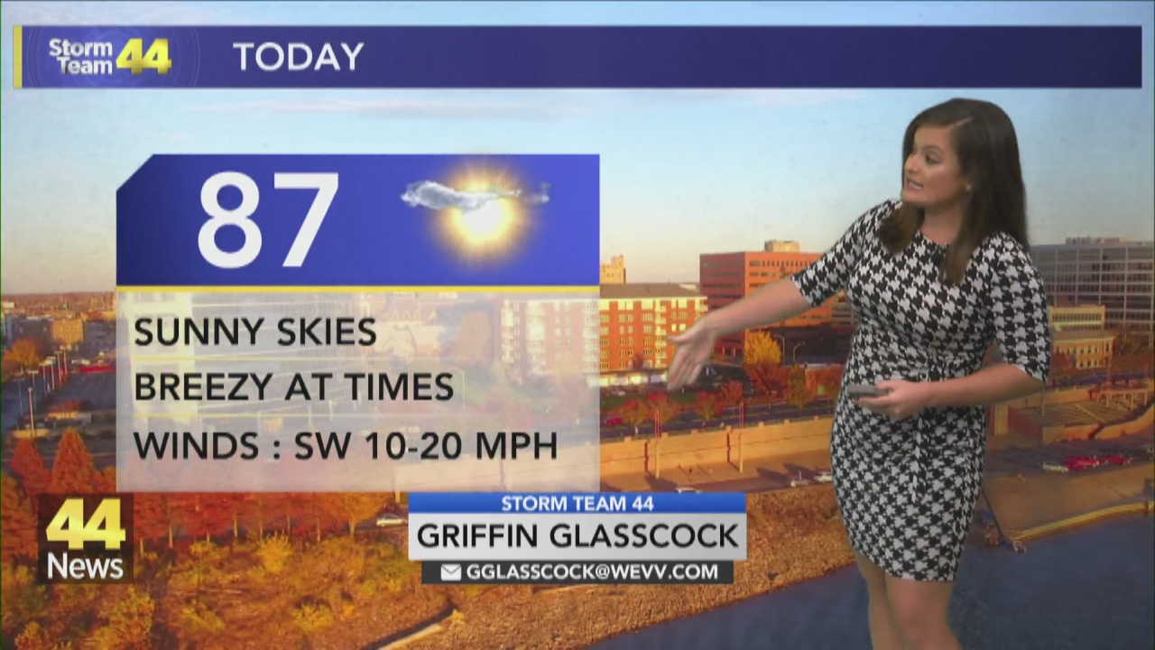 Image for Warm & Sunny Start To Week