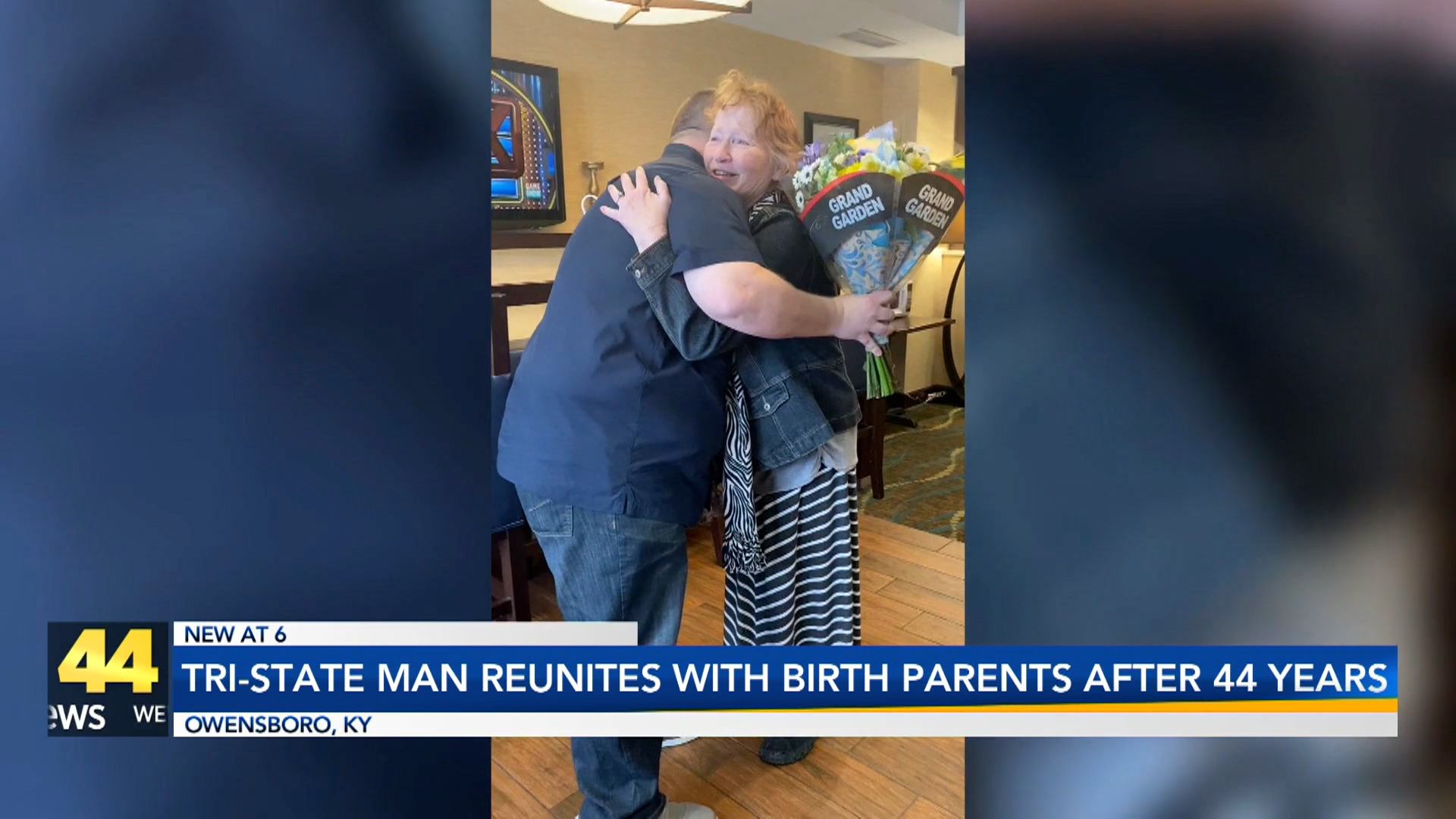 Image for Tri-State Man Reunites With Birth Parents After 44 Years