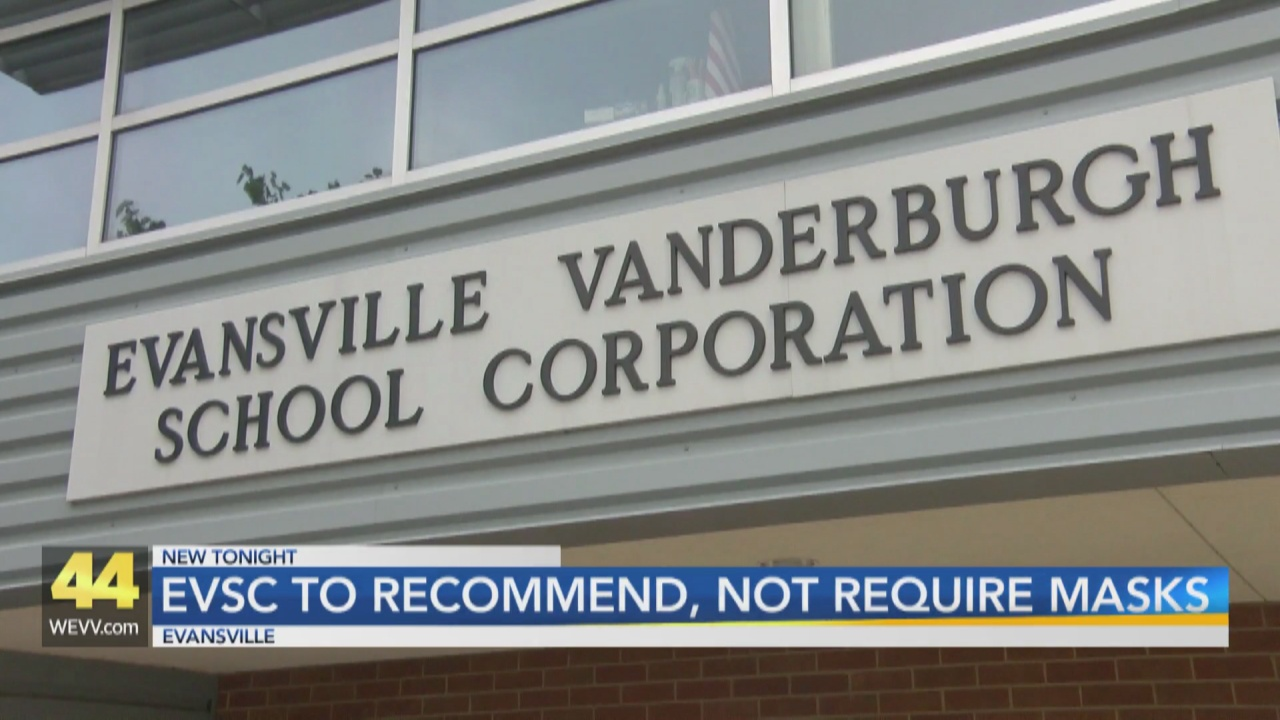 Image for EVSC Won't Require Masks During Upcoming School Year