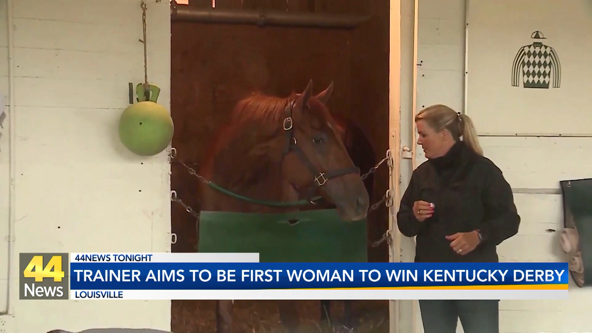 Image for Kentucky Woman Looks to Become Derby's First Winning Female Trainer