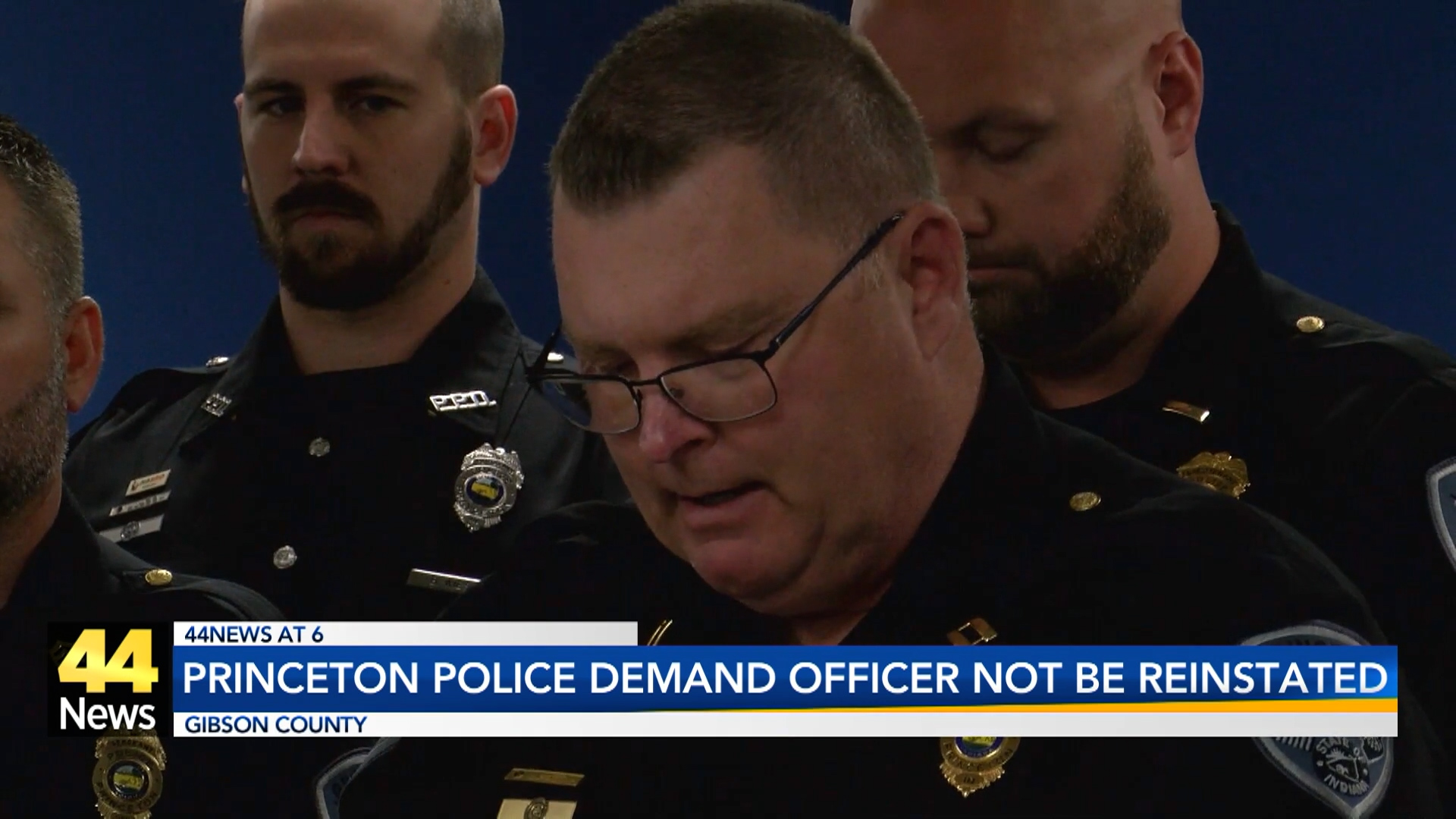 Image for Princeton Police Officers Call for Resignation of Merit Board