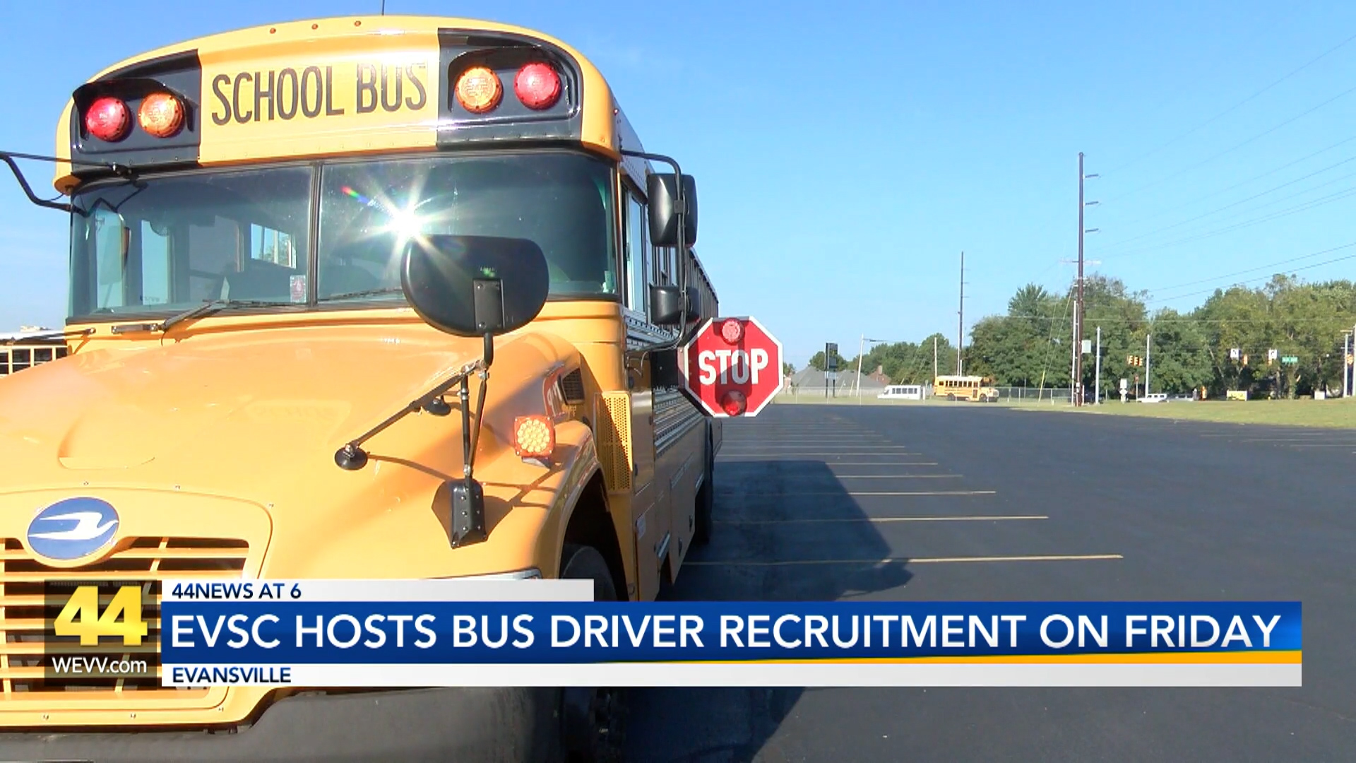 Image for EVSC Letting Interested Applicants Test Drive School Buses Friday