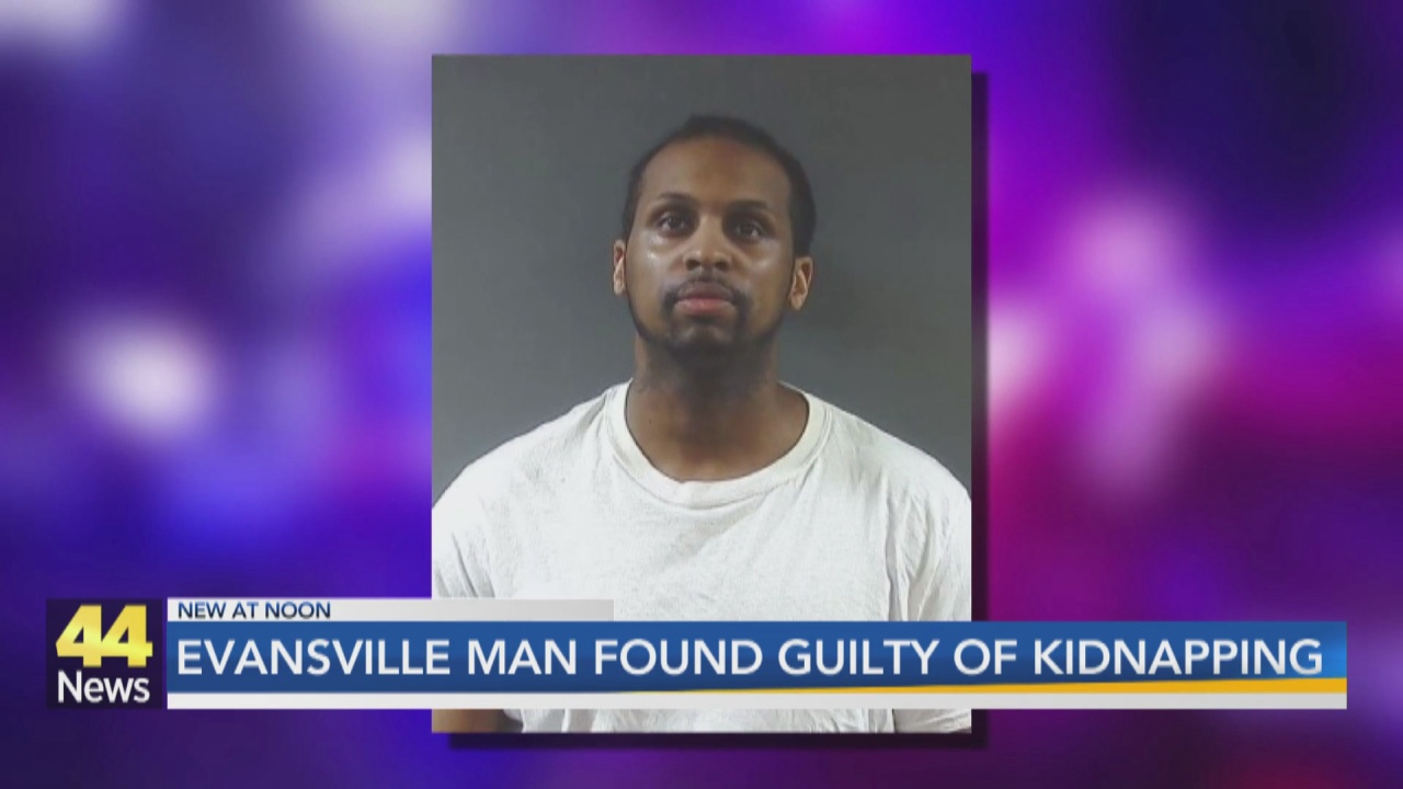 Image for Evansville Man Found Guilty of Kidnapping, Criminal Confinement, Battery