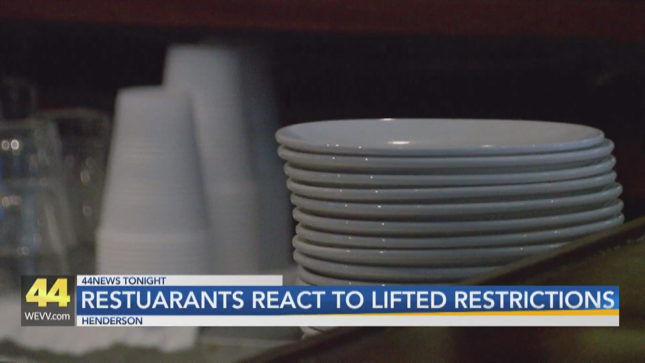 Image for Restaurants React to Lifted Restrictions
